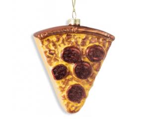 kerstbal pizza